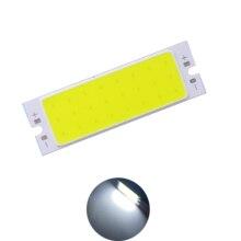 allcob new cob led strip 12v 62x20mm light source 7w White LED bar  for indoor reading lamp bulb tubes