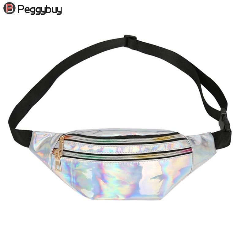 Multi- Steam Punk Leg Fashion Bag Reflective Shoulder Bag Women's Belt Waist Bag Bum Pochete Beach Shoulder Messenger Bag