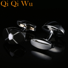 New French Fashion Shirt Wedding Cufflinks For Men Cuff links The Best is Yet To Be Grow Old With Me Free Shipping RL-8058