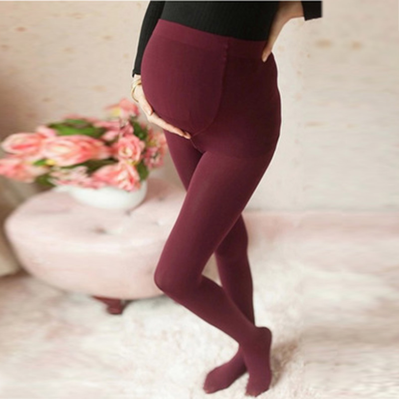 Womens Full Length Maternity Cotton   Leggings   Pregnancy Wear