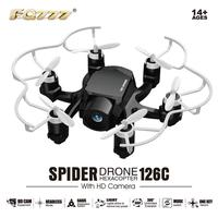 126C RC Mini Done With Camera 2MP 4CH 6Axis Drones with Camera HD RC Helicopter Mini Headless Mode RC Quadcopter Children Gift