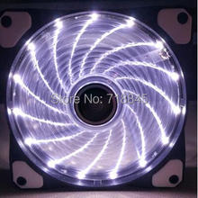 GKD New 12V 4Pin & 3Pin 120mm x 25mm 12025 9 Lotus Leaves 12cm led Fan PC Case System Cooling Fan with Shock pad free delivery fan for inverter fan 12x12x2 5cm 12cm 12025 e1225h24b 24 v 0 24 a