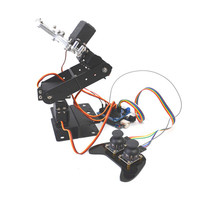 Small Hammer SNAR23 DIY for Arduino 4DOF Metal RC Robot Arm With MG996 Servo PS2 Stick
