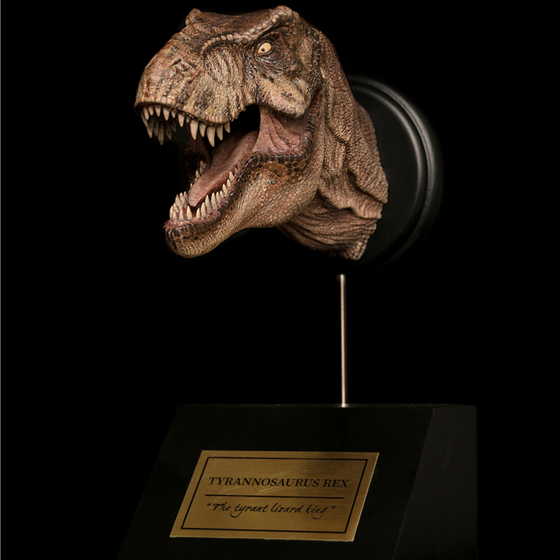 2019 ワット ドラゴン 1/15 女性ティラノサウルスドラゴンヘッド胸部像のレックスで Wanmiantang InStock  グループ上の おもちゃ & ホビー からの アクション & トイ フィギュア の中 1