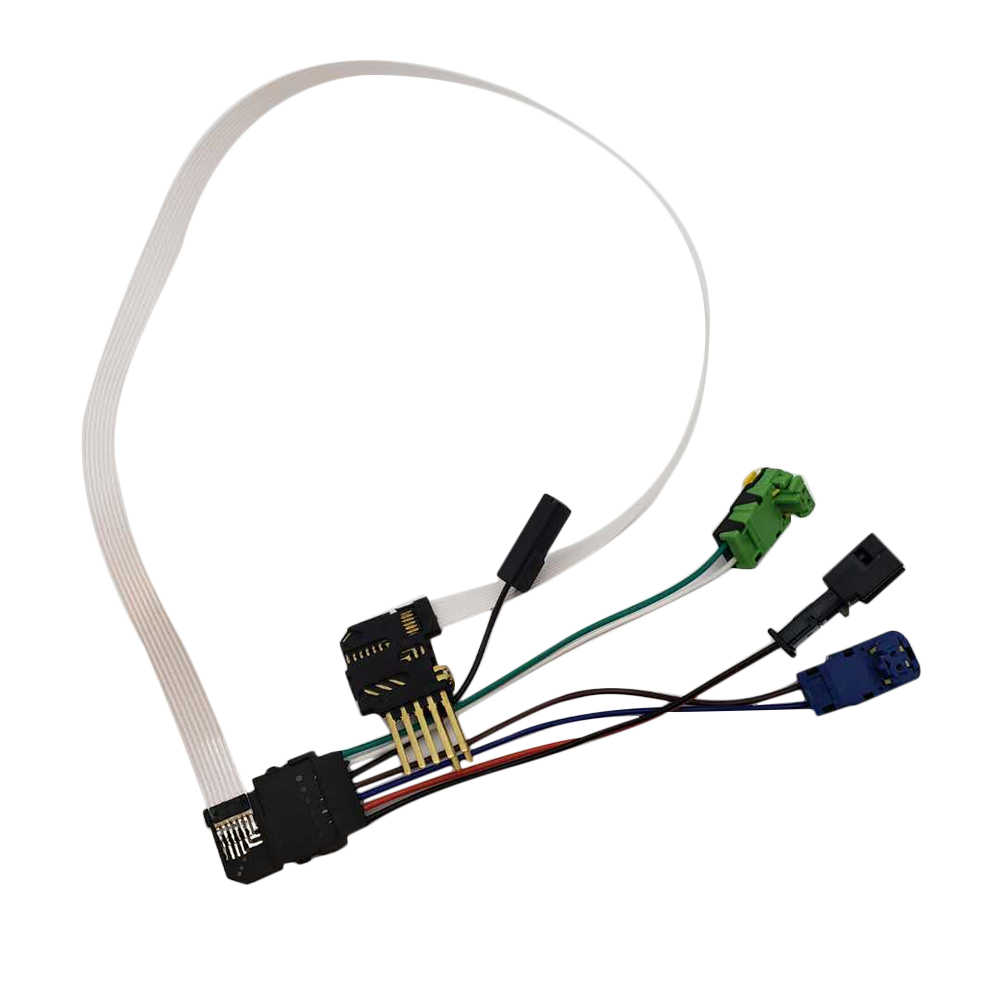 hight resolution of  repair wire clock spring spiral cable air bag wire harness repair kit for renault megane 2