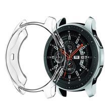 Carcasa protectora de TPU de 360 grados a prueba de arañazos Anti caída para Samsung Galaxy Watch 42 MM 46 MM de S3 frontera