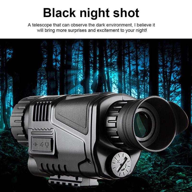 5X40mm Infrarouge de Vision Nocturne Monoculaire 200 m Appareil Photo Intégré Numérique Télescope pour La Chasse Haute Qualité Infrarouge Nuit vision