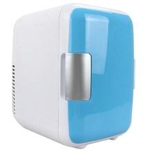 New Hot Dual-Use 4L Home Car Use Refrigerators Ultra Quiet Low Noise Mini Freezer Cooling Heating Box Fridge