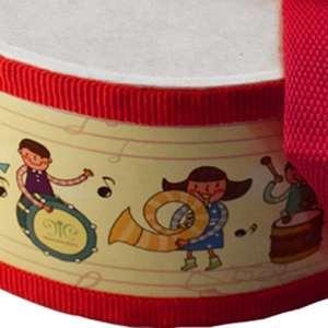 Image 5 - Tambor de madeira crianças cedo educacional instrumento musical para crianças brinquedos do bebê bater instrumento mão tambor brinquedos