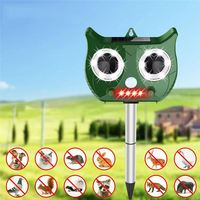 Portable Solar Battery Powered Ultrasonic Outdoor Pest And Animal Repeller Rat Repeller Get All Animal Friendly For Xiaomi Flora