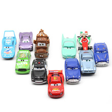 Disney Pixar Cars 3 Lighting Mcqueen Jackson Storm Diecast Metal Alloy Car Model Birthday Gift Educational Toys For Children Boy