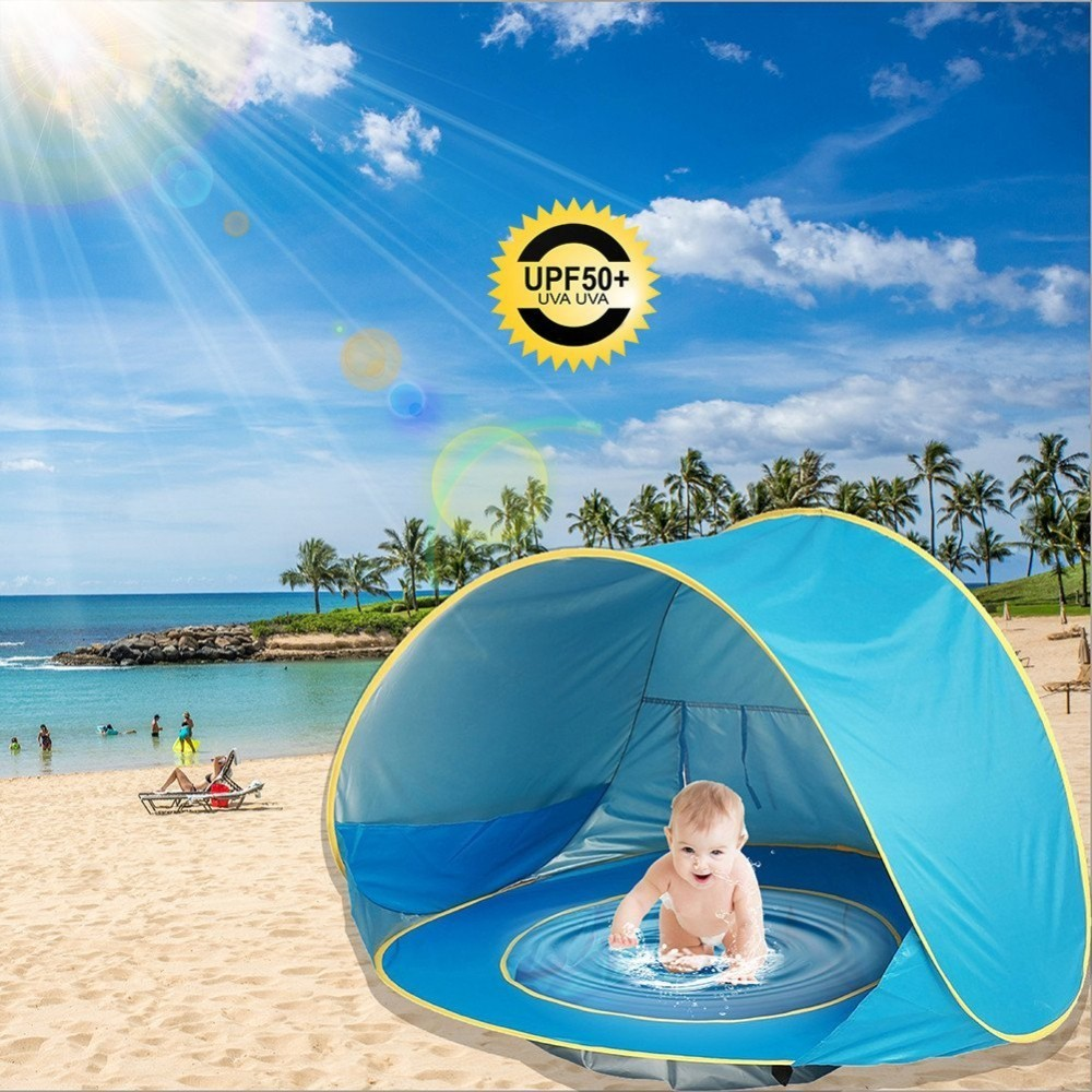 Baby Beach Tent Portable Infant Pop Up Swimming Pool Sun