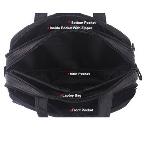 Image 5 - OYIXINGER 2020 avukat evrak çantası erkekler bilgisayar el çantaları lüks marka erkek iş çantası Oxford su geçirmez ofis çalışma için Maletas