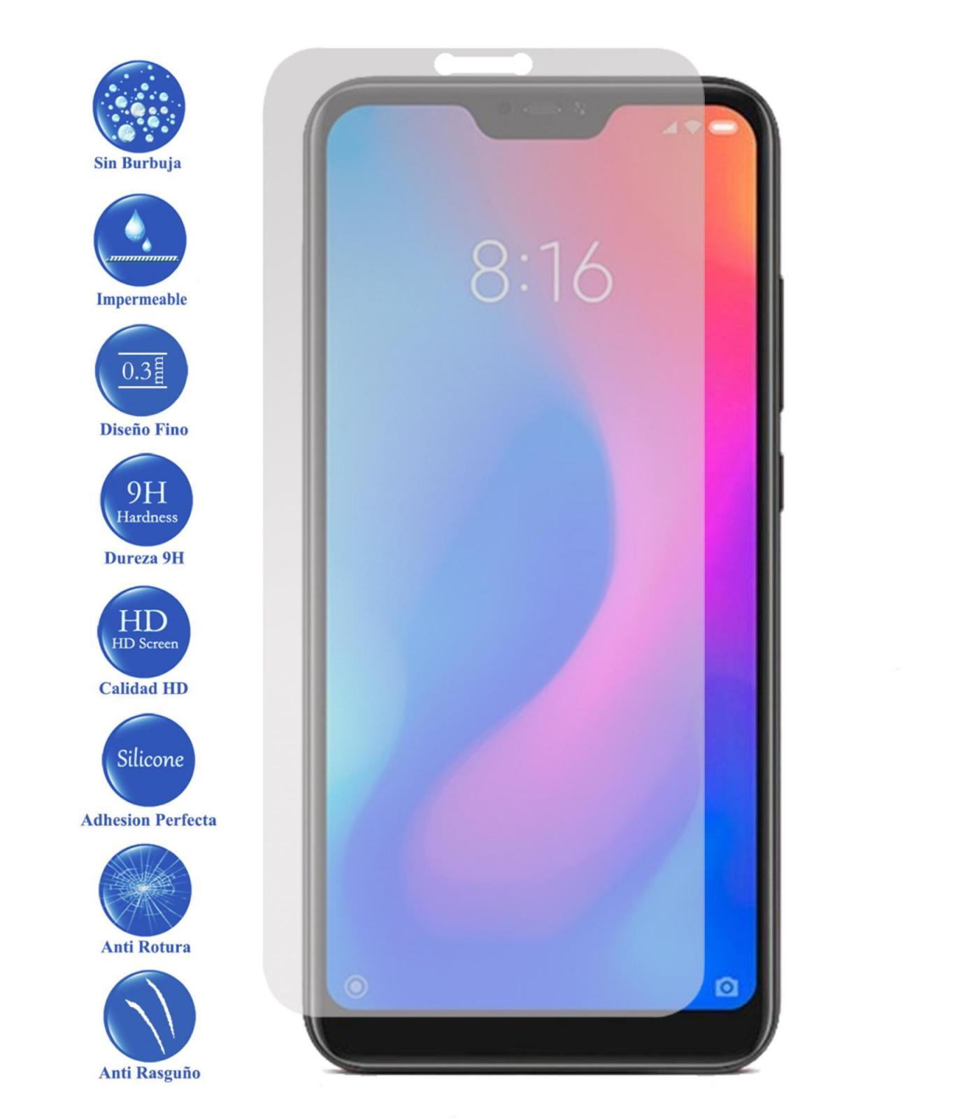 Tempered Glass LCD cover screen protector vidrio 9 H Premium for Xiaomi MI A2 Lite