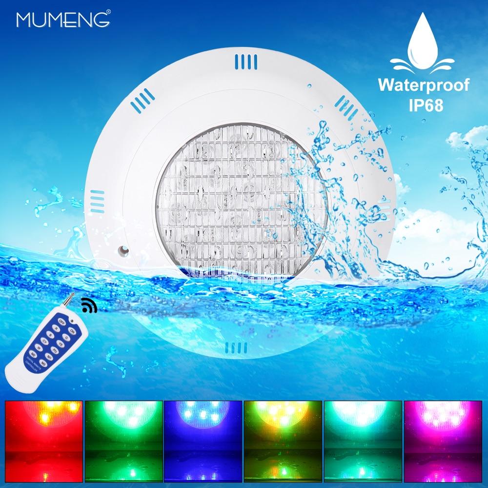High Quality Swimming Pool Light 24W AC12V Wall-mounted EGB IP68 Waterproof LED Colorful Light Effect LightingHigh Quality Swimming Pool Light 24W AC12V Wall-mounted EGB IP68 Waterproof LED Colorful Light Effect Lighting