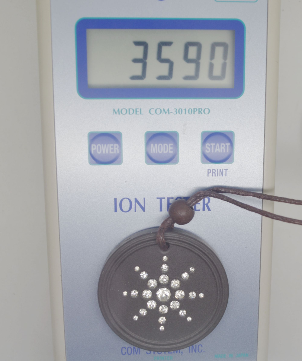 Quantum Scalar Cz-Stone Cystal Ions Energy 2000 2pcs/Lot White 3000 New