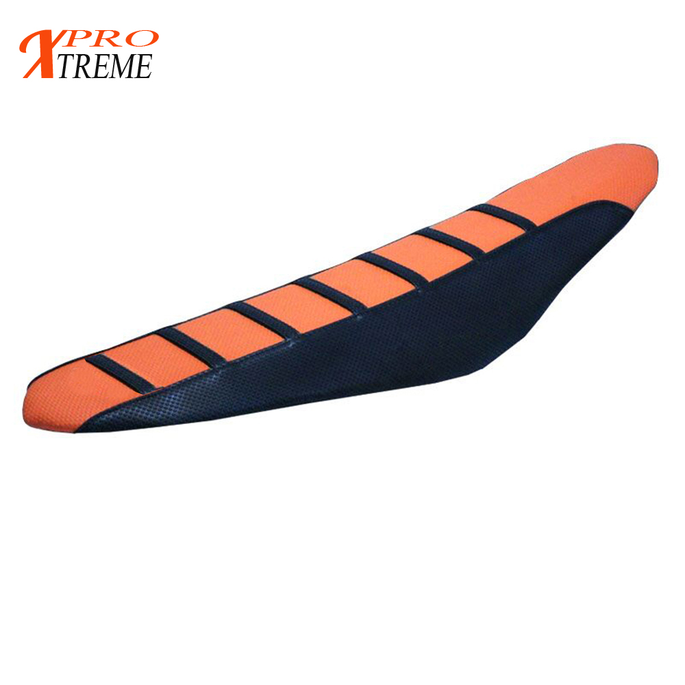 FLU BLACK PLEATED GRIPPER SEAT COVER  KTM SX SXF 05-10 /& 06-11  EXC EXCF XCWF