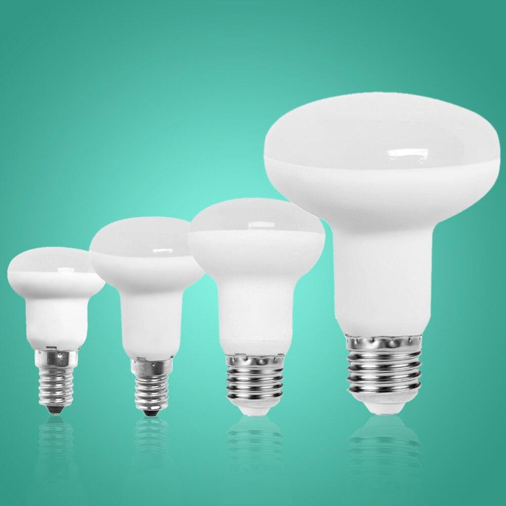 R39 R50 R63 R80 Dimmable E27 E14 Led Bulb Bombillas Lamp cfl Ampoule Spotlight Light Lampada Saving 3W 5W 9W Energy 220V 110V