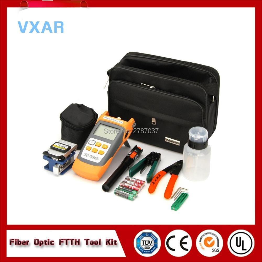 Prix d'usine FTTH kit d'outils fibre optique/Fusion Épissage Boîte à Outils