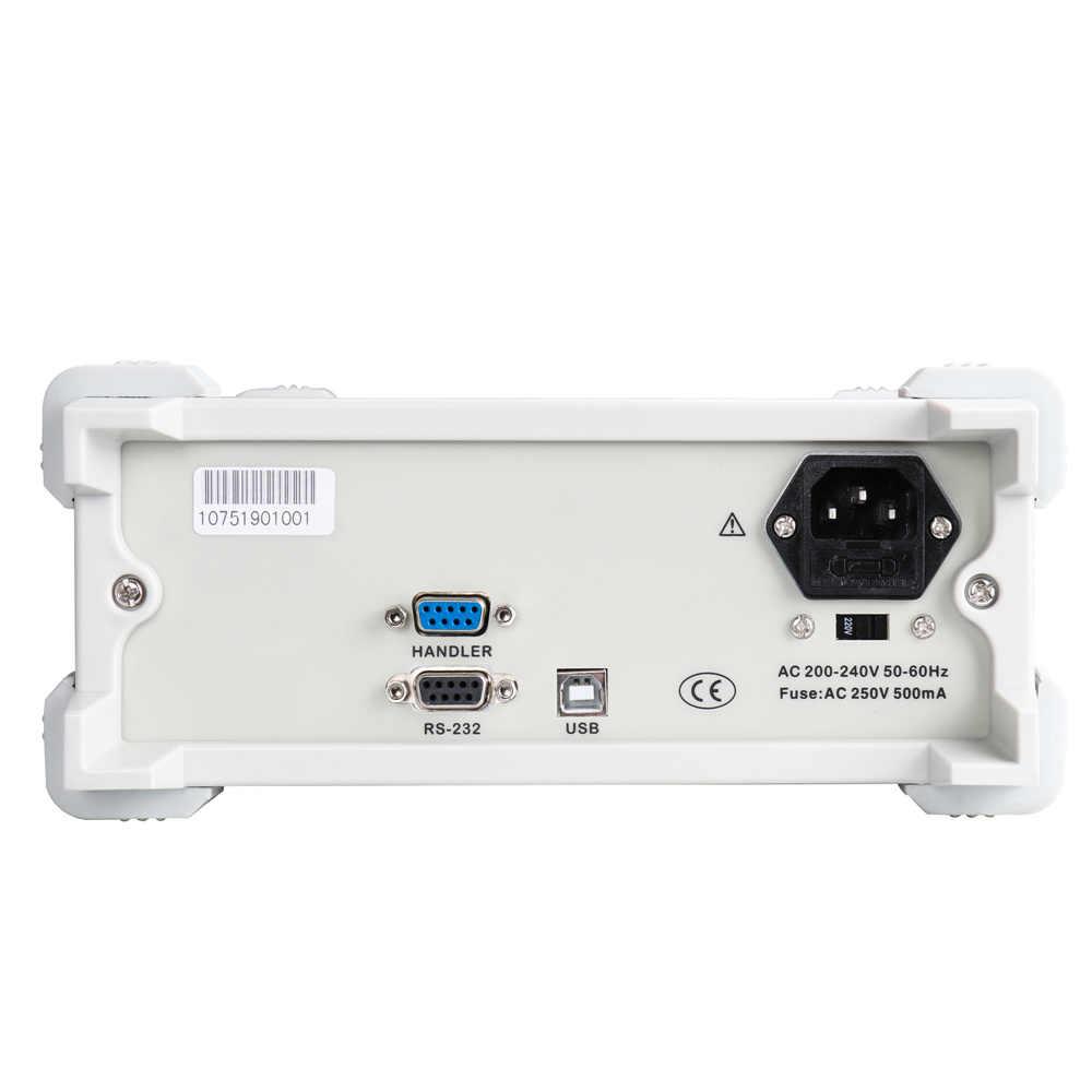 ET4401 Để Bàn Kỹ Thuật Số Cầu Điện Dung Kháng Trở Kháng Điện Cảm Đồng Hồ Đo L CR Cầu L CR Đo