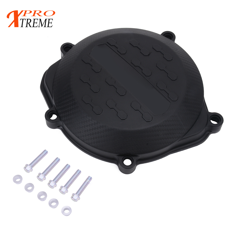 Motorcycle Engine Clutch Cover Guard Protector Guard For Honda CRF450R <font><b>CRF</b></font> <font><b>450R</b></font> 2009 2010 2011 2012 2013 2014 2015 <font><b>2016</b></font> image