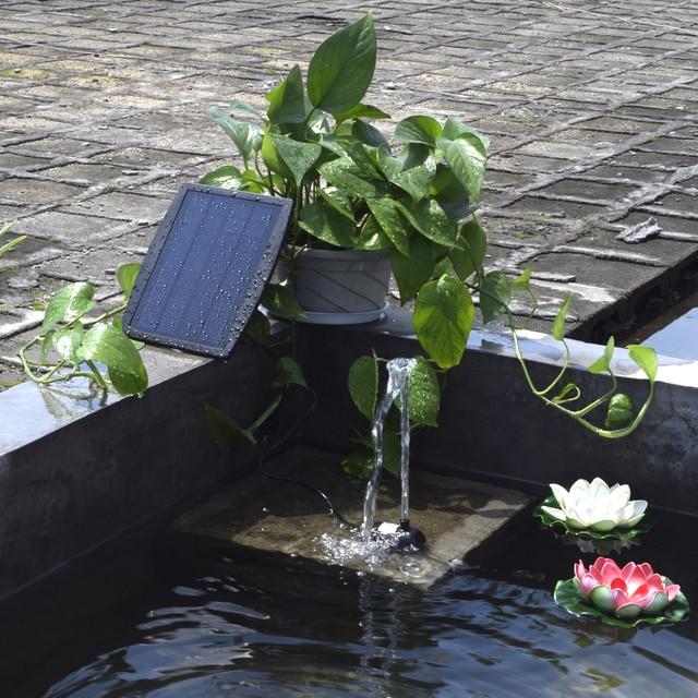 Bas prix Panneau solaire paysage piscine jardin fontaines enfichable ...