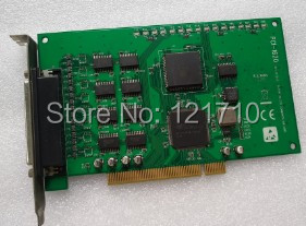 Industrial equipment board PCI-1620 REV.A1 03-2 8-PORT RS-232 COMMUNICATION CARD