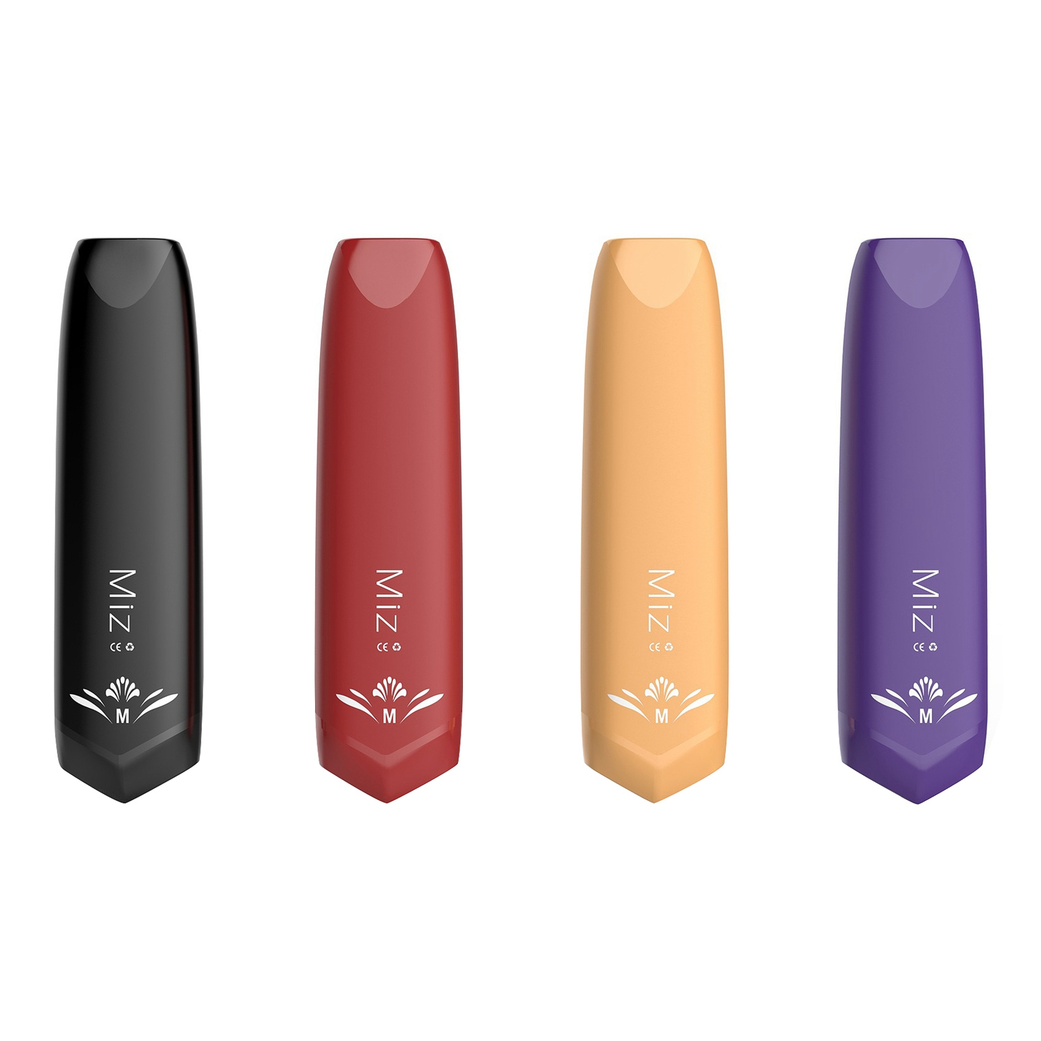 3Pcs Hugsvape Fmcc Miz Disposable Electronic Cigarette 300 Mouth Mini Vape Pen All In One 240Mah E-Cigarette Pod Vape