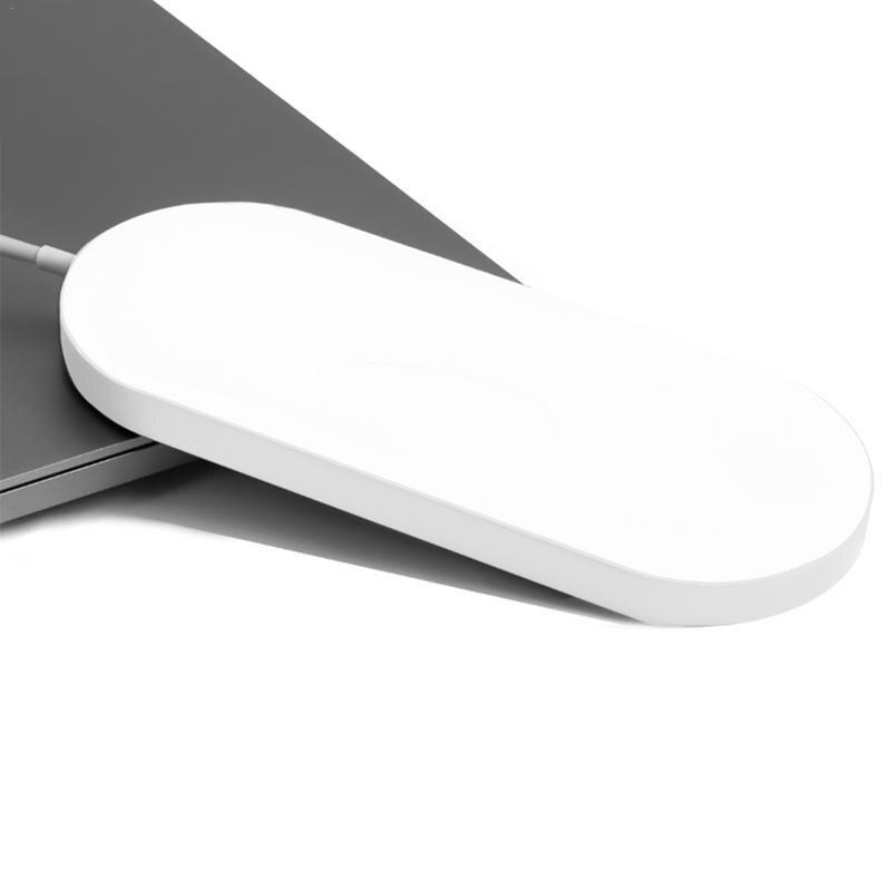 Image 2 - Быстрая Беспроводной Зарядное устройство многофункциональный 2 в 1 Мощность Автоматическая поставка Защита от отключения питания устройств для часы Apple samsung серии-in Зарядники from Бытовая электроника