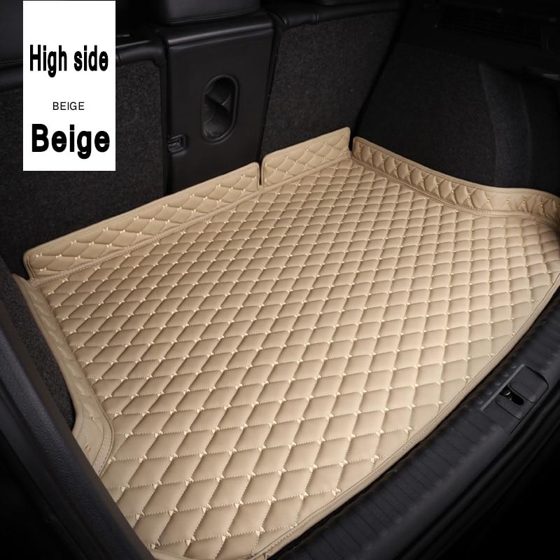 ZHAOYANHUA Car Trunk Mats Car Styling Carpet For BMW4 Series F32 F33 F36 420i 425i 430i 440i 420i 428i 435i 418d 420d
