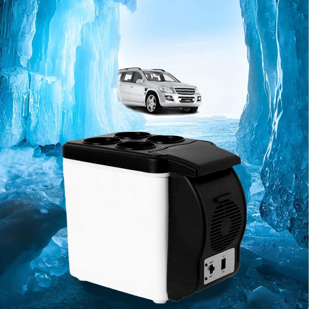 6L Mini Car Refrigerator 12V Portable Multi-Function Auto Car Travel Fridge ABS Home Cooler Warmer Freezer6L Mini Car Refrigerator 12V Portable Multi-Function Auto Car Travel Fridge ABS Home Cooler Warmer Freezer