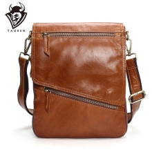 лучшая цена Tauren Burglarproof Buckle Small Mens Crossbody Bag Personality Oblique Flap Cool Men Messenger Bag Sling Shoulder Bag Male
