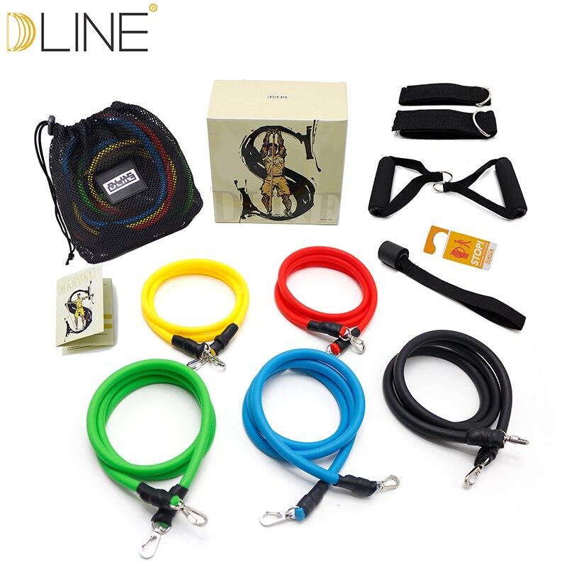 Aliexpress.com : Buy Dline 11pcs/set Pull Rope Fitness