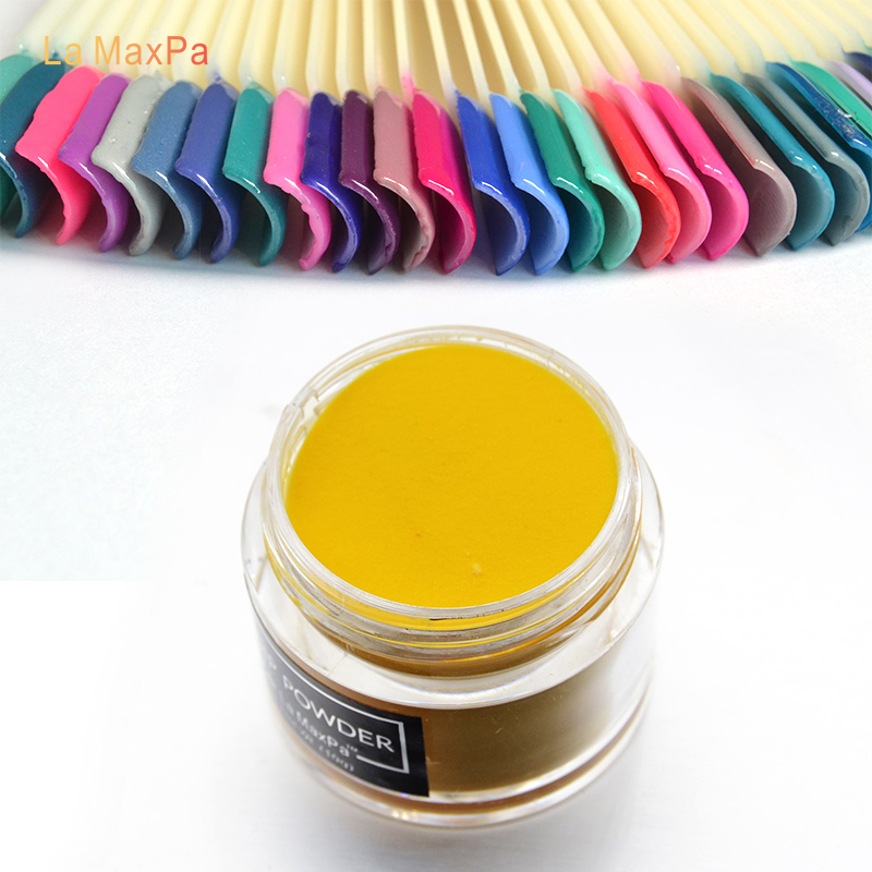 Lamaxpa chameleonpigment dip powder new arrival long lasting gel naturl dry glitter powder nails art&tools (Color: K155-K180)(China)