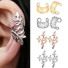 f5649b8ed91b Nueva oreja Clips no Piercing falso hélice aro puños de oído del cartílago  de-para