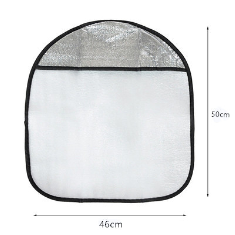 LA 191 Double Thicken Car Steering Wheel Sun Shade Cover Sunshade Aluminum Foil Anti Hot Automotive Accessories in Steering Covers from Automobiles Motorcycles