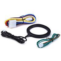 AOZBZ Auto Anti theft System Car Alarm Car Engine Push Start Button RFID Lock Ignition Starter Stop Immobilizer