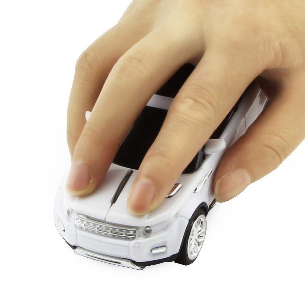 CHYI Ratón inalámbrico Moda Coche deportivo SUV Ratones en forma - Periféricos de la computadora - foto 3
