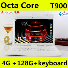 New Tablets Google Play Android 8.0 OS 10 inch tablet Octa Core 4GB RAM 128GB ROM 1920*1200 IPS GPS Kids Tablets 10 10.1 lnmbbs tablet 10 1 android 5 1 tablets point of sale android 3g children tablet octa core 1920 1200 ips 2gb ram 16gb rom store