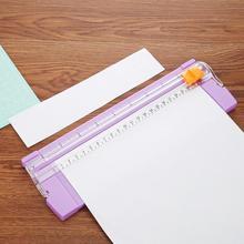 Cortador de papel portátil Mini A5 recortadores de fotos de papel de precisión para papeles de Scrapbooking DIY herramientas de corte de alfombrilla