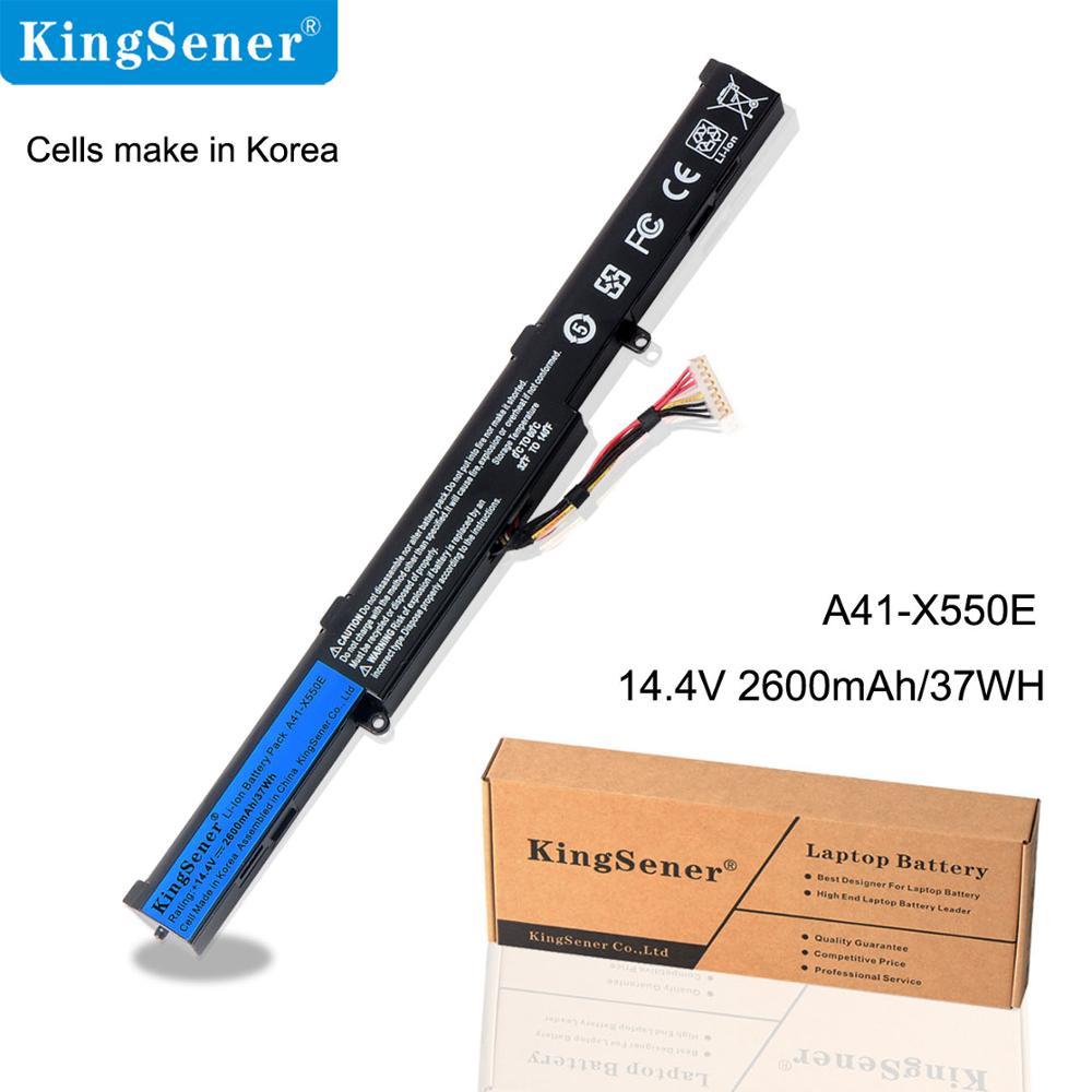 14.4 V 37WH KingSener Nouveau A41-X550E Batterie D'ordinateur Portable pour ASUS X450 X450E X450J X450JF A450J A450JF A450E F450 F450C F450V f450E