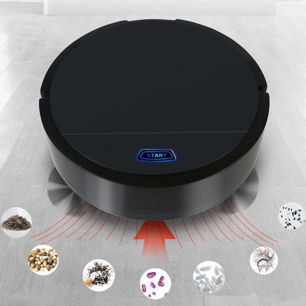 Mini Automatic Induction Sweeping Robot Chargeable Floor Cleaning Robot Wet Dry Mop,Robot Vacuum Cleaner Automatic Sweeping Dust vacuum cleaner for sofa