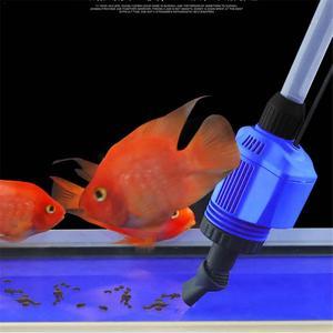 Image 4 - אקווריום חשמלי Syphon מופעל חול מכונת כביסה ואקום חצץ מים מחליף לשאוב מסנן דגי טנק כלים