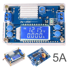 1pc LCD Digital Board Buck Module 5A DC-DC Boost Buck Step-down Constant Voltage Current Power Supply Module все цены