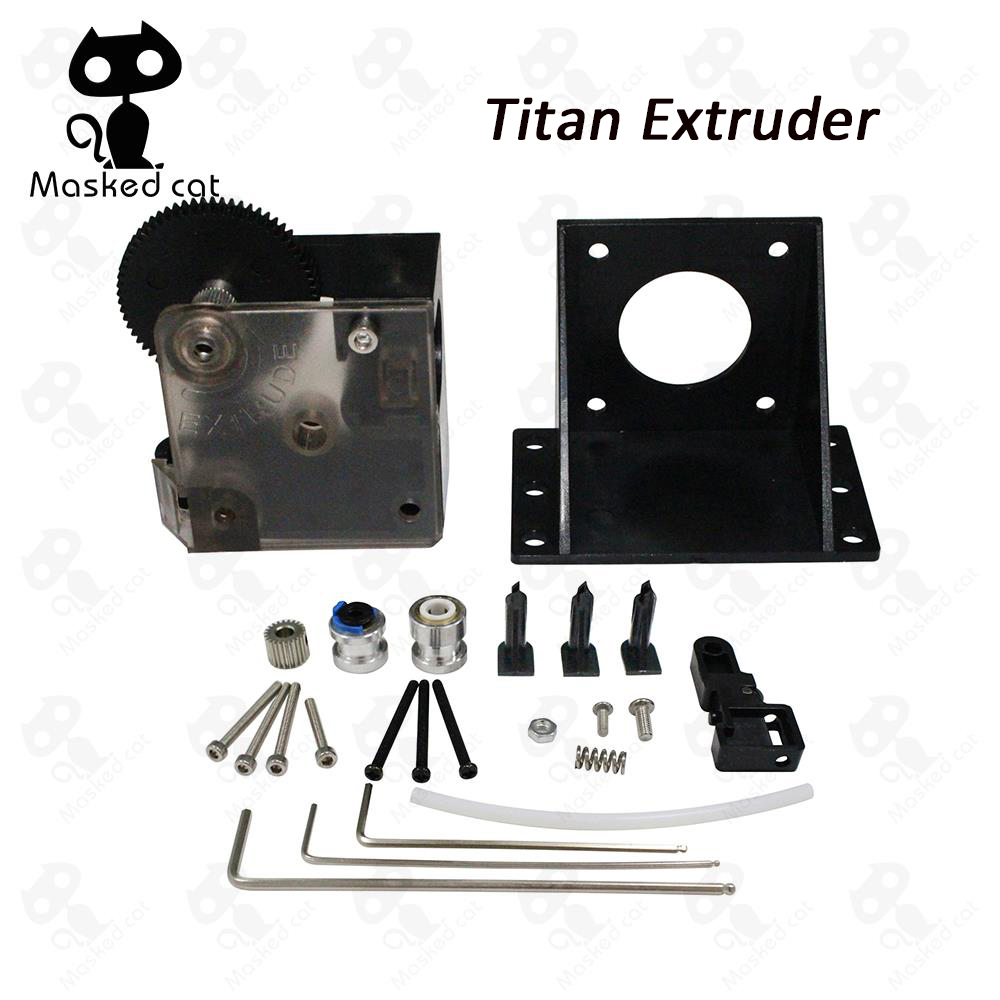 NEMA 17 Stepper Motor support both Direct Drive and Bowden Mounting Bracket for 3d printer parts titan Extruder Full Kit цена