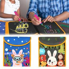 Portable Reusable Children's Water Picture Book Graffiti Sketchbook Kid Artist Drawing Blackboard Baby Creative Paintings toys