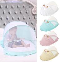 Baby Bed Mosquito Netting Children Bed Mosquito Net Newborn Folding Self expanding Tent