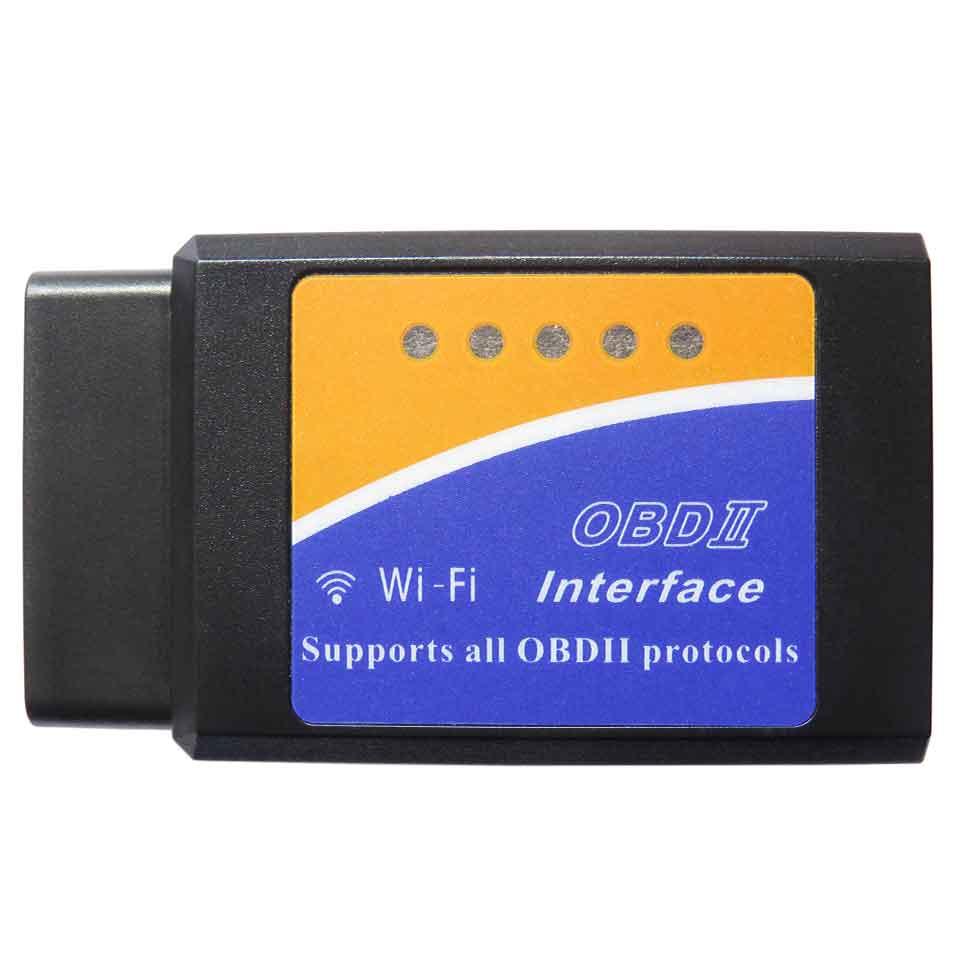 Nuevo Mini ELM327 WiFi V1.5 OBD2 OBDII herramienta de diagnóstico del coche ELM-327 Wi-Fi ELM 327 v 1,5 Obd 2 lector de código de escáner para iOS y Android