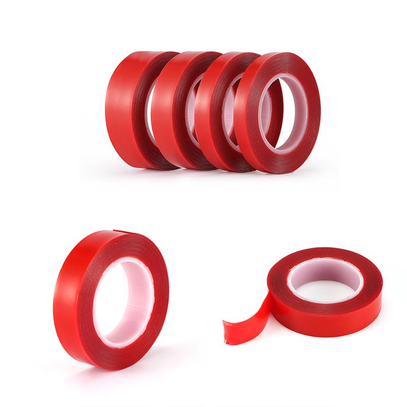 Double Sided Adhesive Tape Acrylic Transparent No Traces Sticker For LED Strip Car Fixed Phone Tablet Fixed