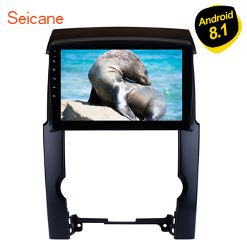 Seicane HD 1024*600 10.1 For KIA Sorento 2009 2010-2012 Android 9.1 Quad-core 2din GPS Navi Car Stereo support Rearview camera image